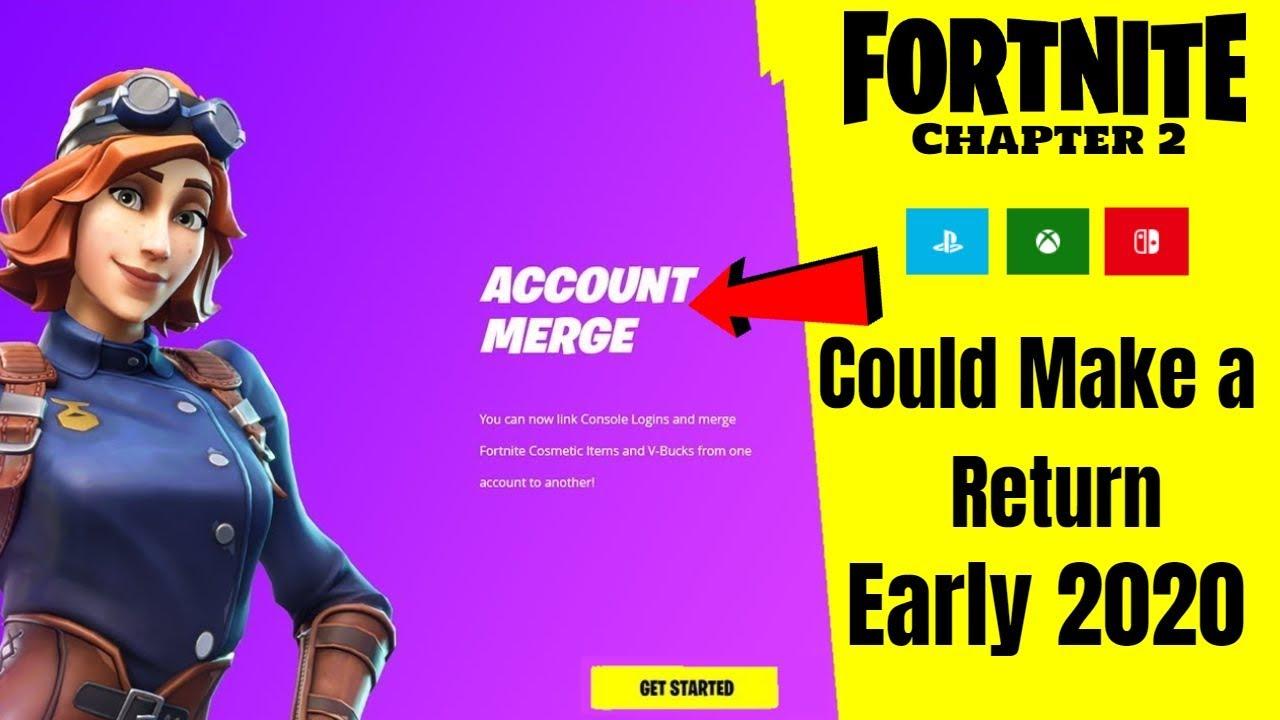 Fortnite Account Merging Chapter 2 (Merge Accounts Coming ...
