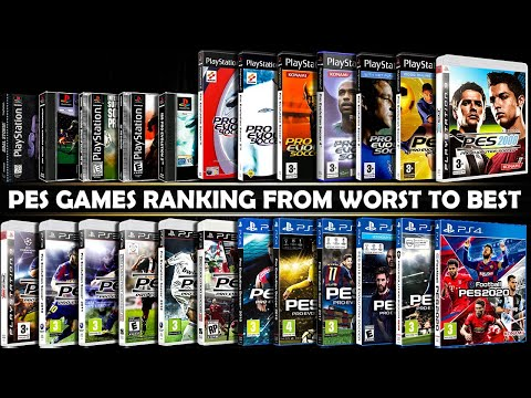 From WORST To BEST Rated PES Games