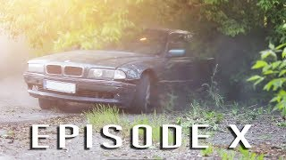StrzeleckiGarage #10 - BMW 7 Missile Drift Dirt Action , What BMW e36 m50b20 CAN DO !