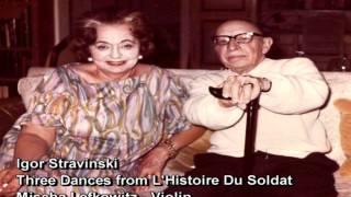 Stravinsky  3 dances  Histolre du Soldat Tango Valse Ragtime