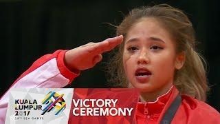 Gymnastics Artistic Victory Ceremony Women's Balance Beam | 29th SEA Games 2017