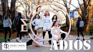 [KPOP IN PUBLIC] EVERGLOW (에버글로우) - Adios Dance Cover by DARE 데어 Australia