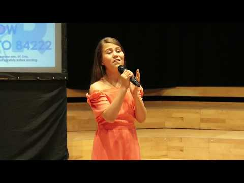 RISE UP – ANDRA DAY performed by ERIN LEAH at Teenstar Manchester Area Final