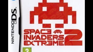 Nintendo Ds longplay - Space Invaders extreme 2