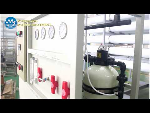 2000 liters per day seawater desalination plant
