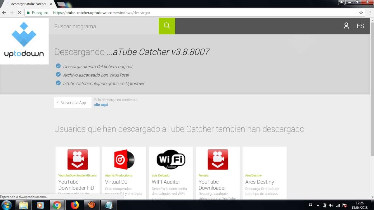 Como descargar aTube Catcher 2.0 - YouTube