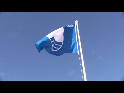 Cartaya Tv | Las playas cartayeras ya lucen sus banderas azules