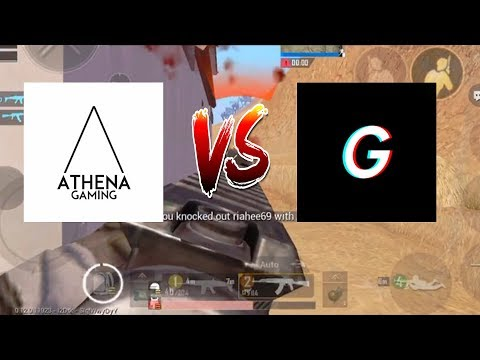 Athena Gaming vs Axom Ghaslty - Who is the best Pubg Mobile Player | exe