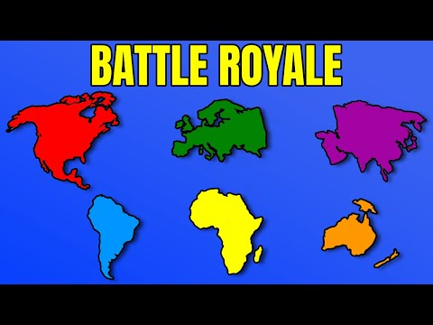 What If Every Continent Went To War?  