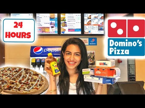 I ONLY ATE DOMINOS FOR 24 HOURS INDIA