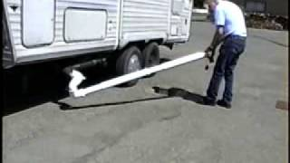 EZE Kleen The Only RV Sewer Discharge System You'll Ever Love.