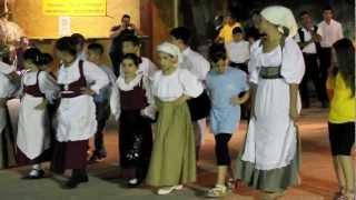 Bambini del Gruppo Folk di Barrali