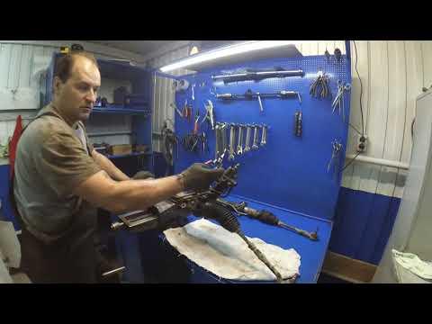 BMW X5 E53 профессиональный ремонт рулевой рейки  EPIC FAIL