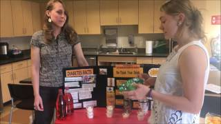 Rethink Your Drink!  November is American Diabetes Month at Metro Caring
