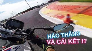 Háo thắng khi test ride BMW G310R trong trường đua và cái kết