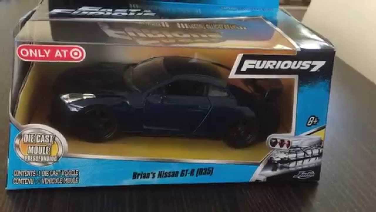 Fast /& Furious 2016 Build /'n coletar Series 3 Vermelho lkyan HYPERSPORT por Jada Toys