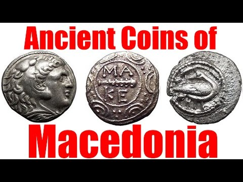 Ancient Macedonia Greek Roman Coins Guide and How-To by Numi