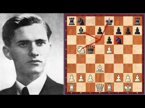 Aggressive Game! Paul Keres vs. Pal Benko