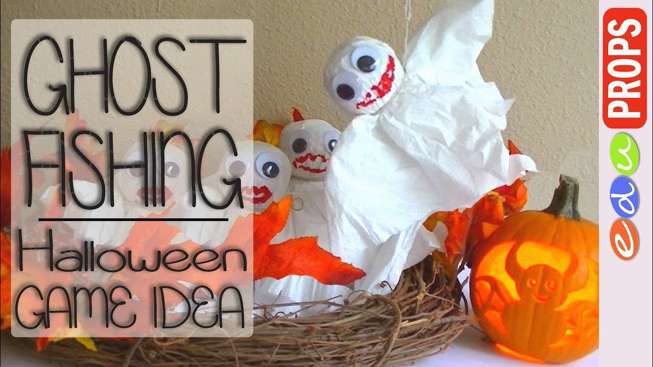 Halloween Ghost Fishing Game Spooky Game Ideas For