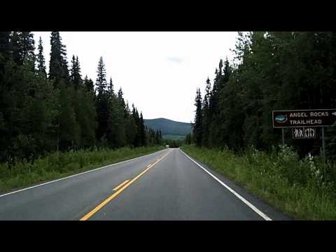 Tour of Fairbanks, Downtown, out to Chena Hot Springs