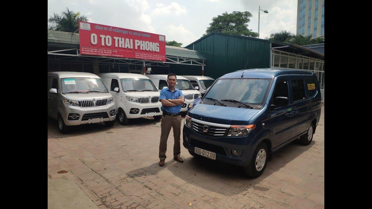 Xe kenbo van 5 chỗ 650kg full option 2020, đánh giá xe tải van kenbo 5 chỗ 650kg 0974799699