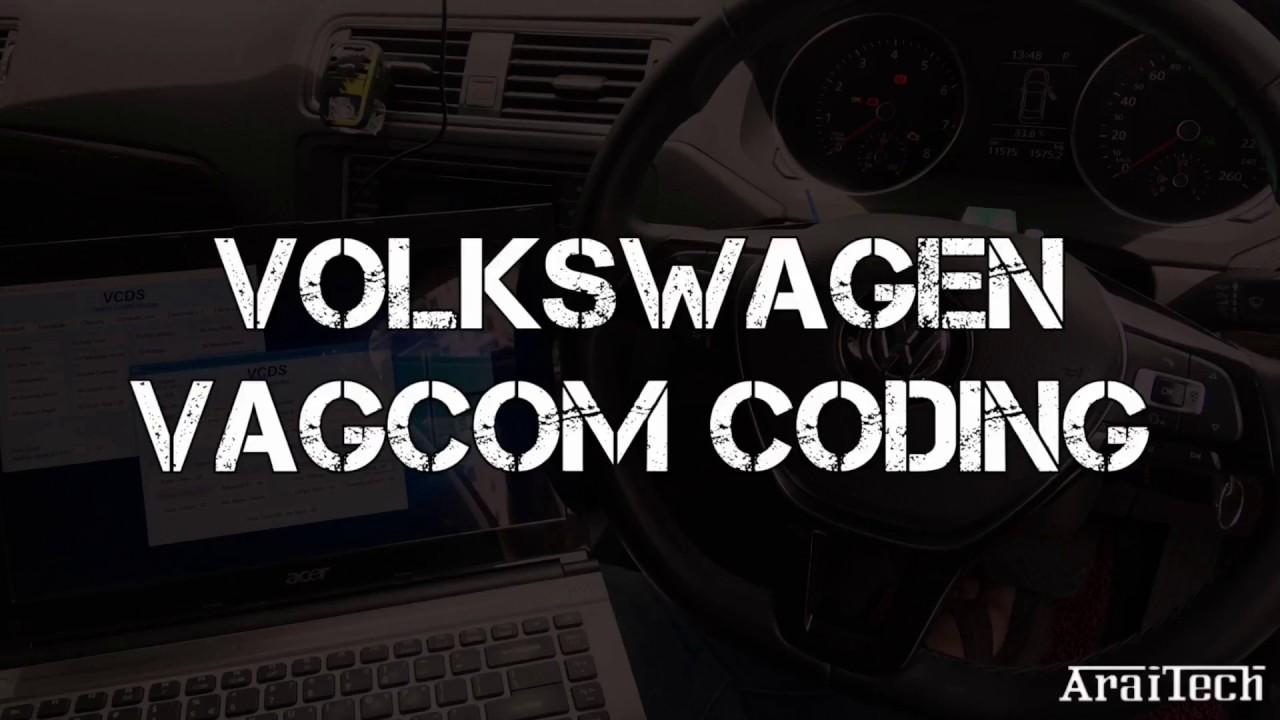 VW Jetta/Golf/Passat VCDS VAGCOM Coding