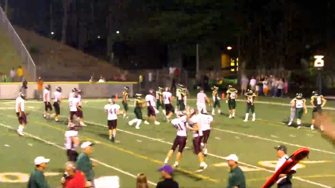 Owen V Ac Reynolds High School Football Youtube