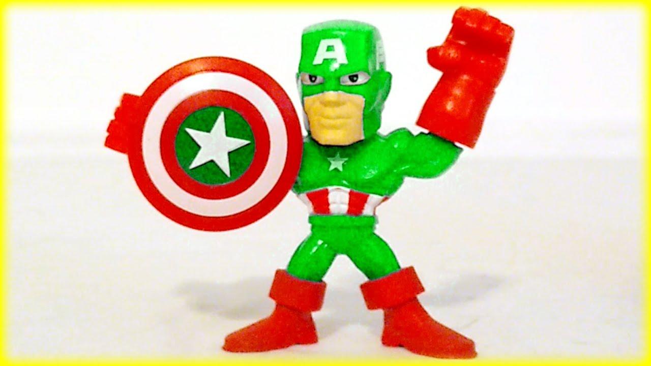 48 Minutes Marvel Superhero Squad Peppa Pig Disney Blaze Toy Surprise Eggs  Kids Children