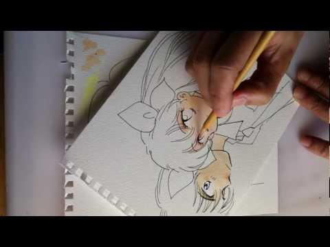 Manga Coloring 1 / drawings for Yokogawa-Charity-Arts & Crafts-Festival