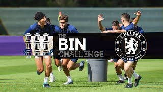 Youth v Experience: Chelsea Take On The Bin Challenge🤣