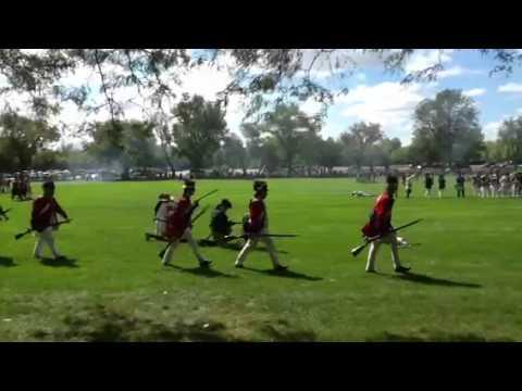 WWII  reenactment at Cantigny Park, Wheaton Illinois Septem