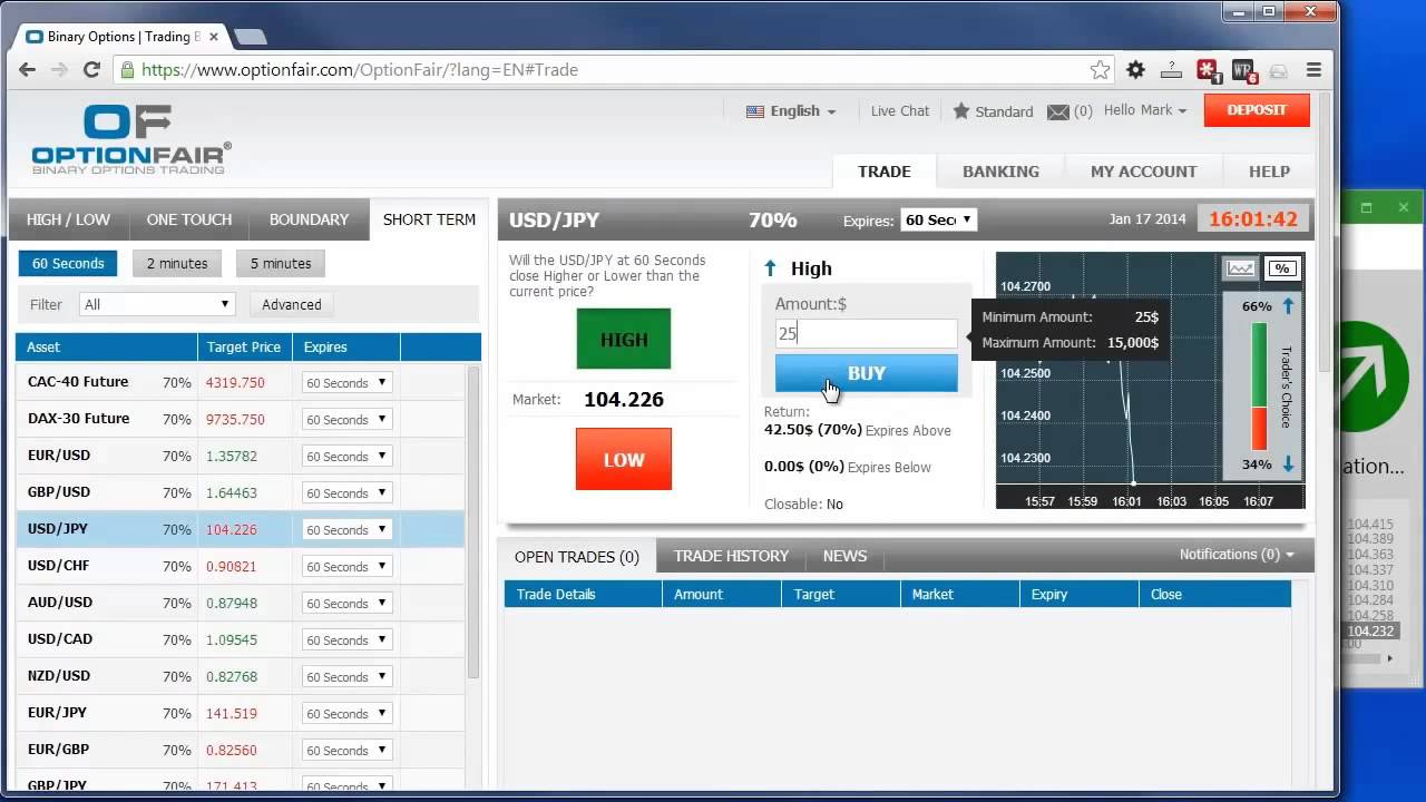 Binary option robot pro license key