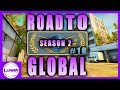 CS:GO ROAD TO GLOBAL S2 EP. 10: THE BEST CACHE T-SIDE! - FULL MATCHMAKING GAMEPLAY