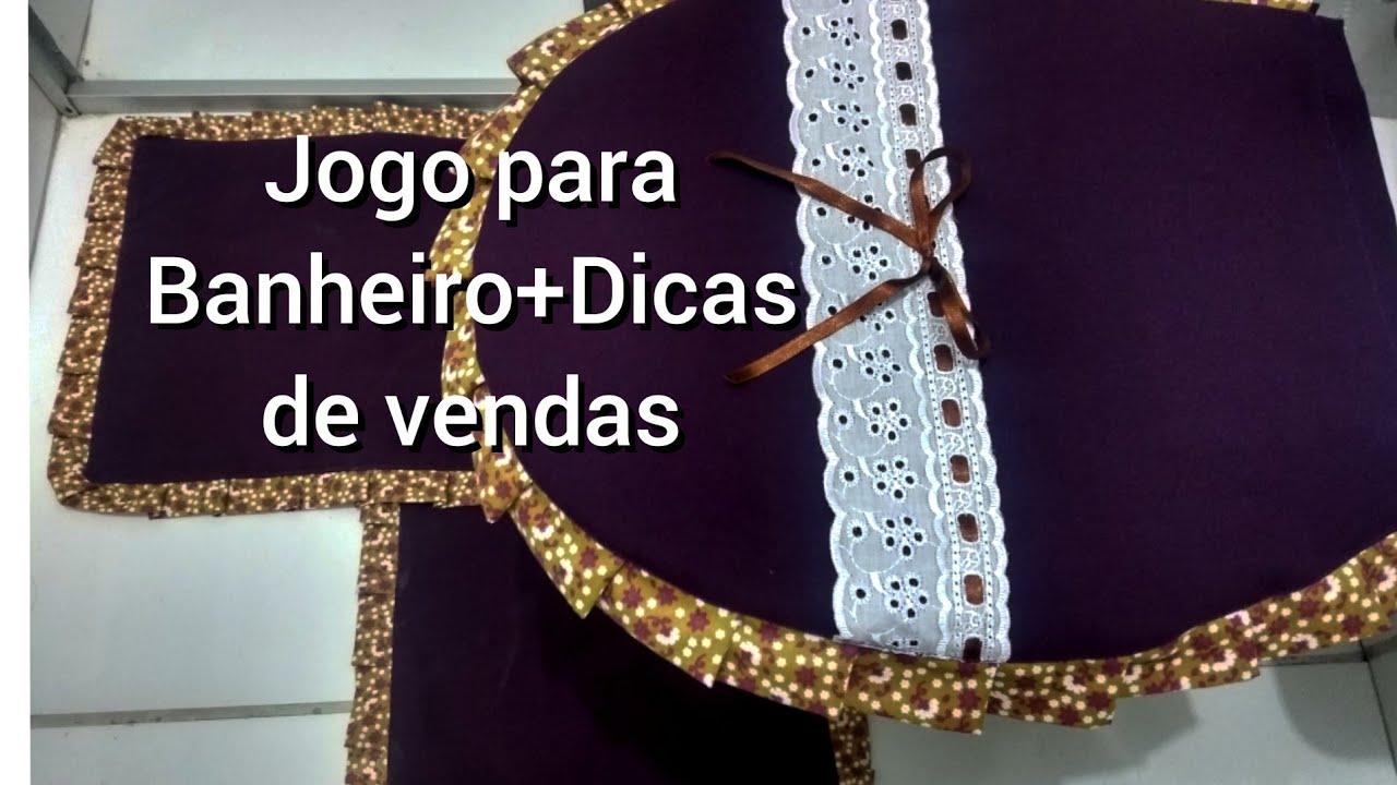 PASSO A PASSO JOGO PARA BANHEIROS +DICAS DE VENDAS