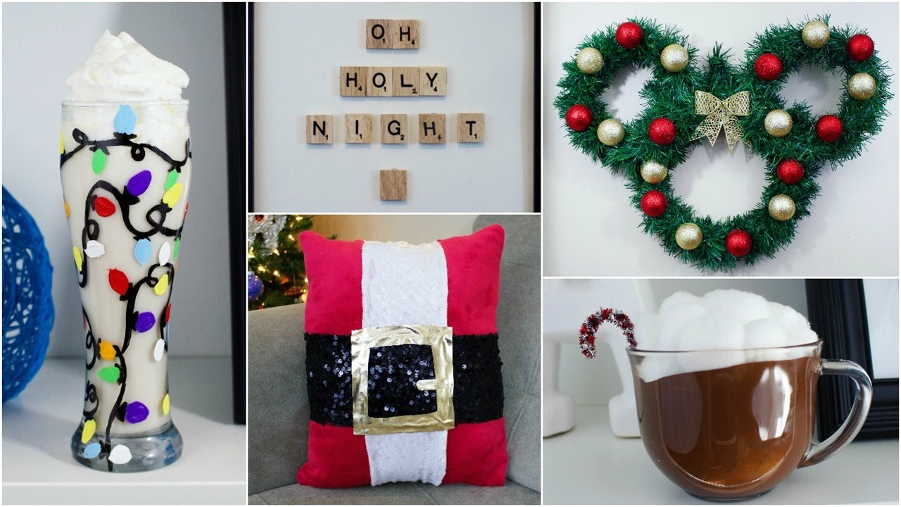cheap easy diy christmas decor ideas pinterest inspired youtube