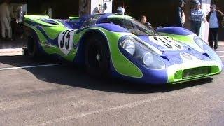 Porsche 917-021 Spa Francorchamps 2012