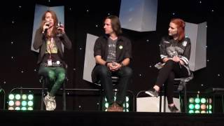 Critical Role panel w Matt Mercer & Marisha Ray @ HAVEN, Mackay, Australia 2016-07-02 [Spoilers E58]
