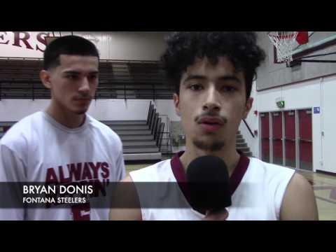 Fontana High School basketball 2017