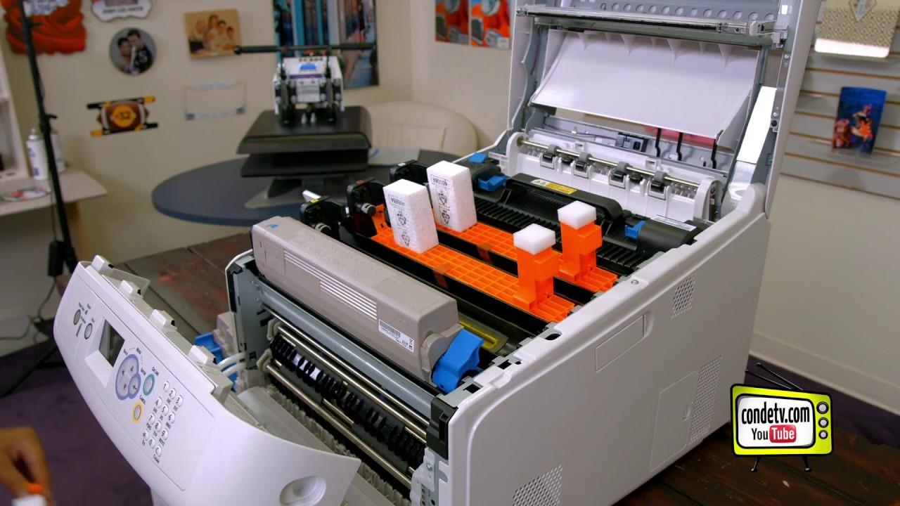 36d8e5368 Oki Pro 8432WT Printer - Setup and Driver Install - Video #2 of 4 ...