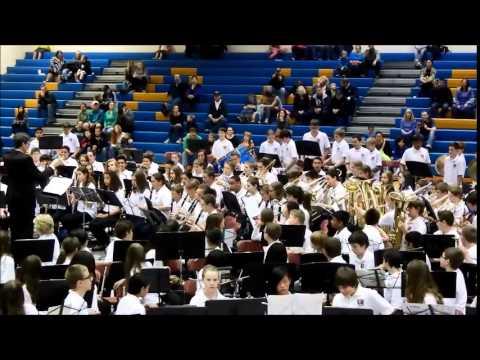 Tahoma Middle School 7th Grade Band - Royal Oak March