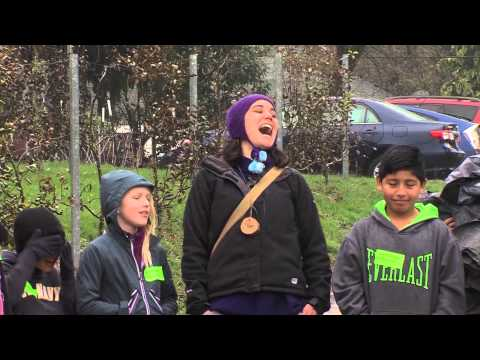 Lent K-8 Students and the Farm to School Program - YouTube