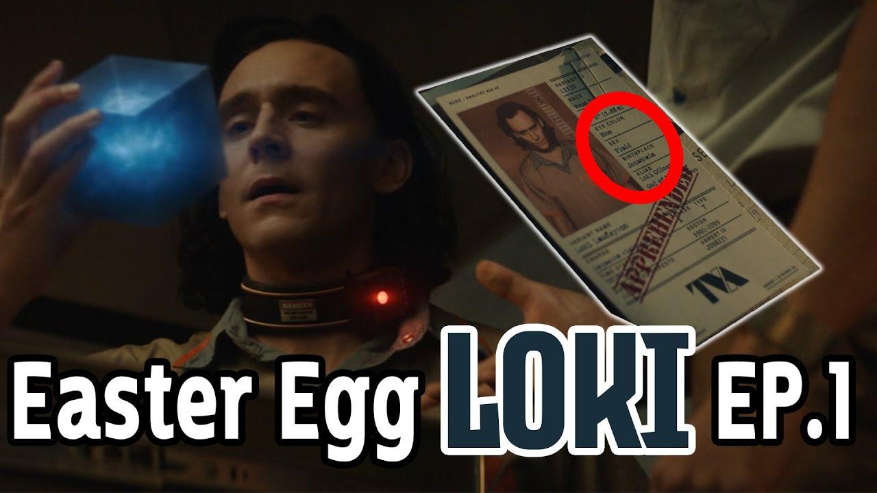 "Easter Eggs สุดเจ๋งที่โผล่มาในตอนแรกของ ""โลกิ"" มีเพียบ!! - Comic World Daily"