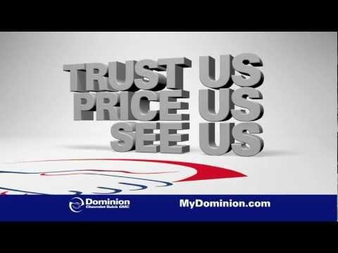 "Dominion Chevrolet - Equinox ""Trust Us. Price Us. See Us."" Sale"