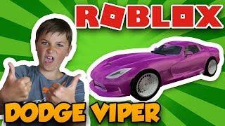LOHNT ES SICH? DODGE VIPER in ROBLOX VEHICLE SIMULATOR   DRAG RACES   CAR STUNTS