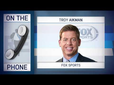 FOX Sports' Troy Aikman Talks NFL Draft QB's with Rich Eisen   Full Interview   4/25/18