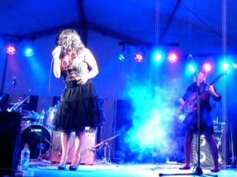 Meena With 'I'd Rather Go Blind' @ Blues Festival, Ploegsteert