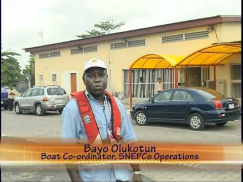 Boat Safety on Lagos Harbour - 6 min, 2007