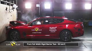 Kia Stinger Euro NCAP crash test 5/5 stars!