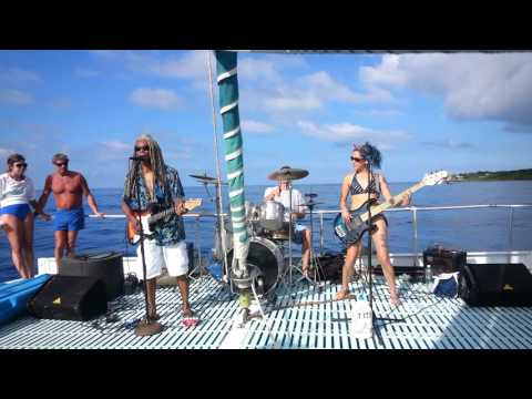 The Stray Cat Catamaran Sunsets with Brion James