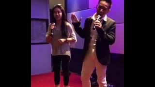 相思风雨中 karaoke by suzie and Derrick